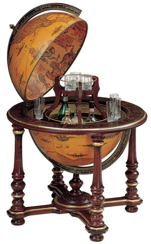 Elite vintage extra large globe bar - product photo