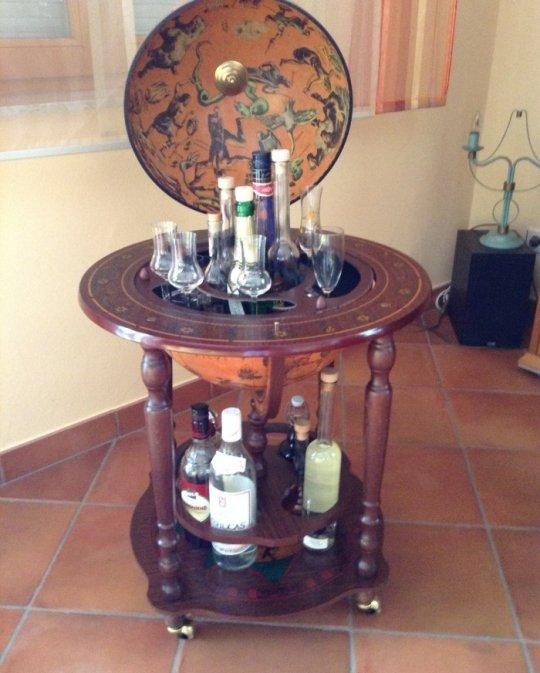 Minosse classic globe cabinet bar - customer photo 2