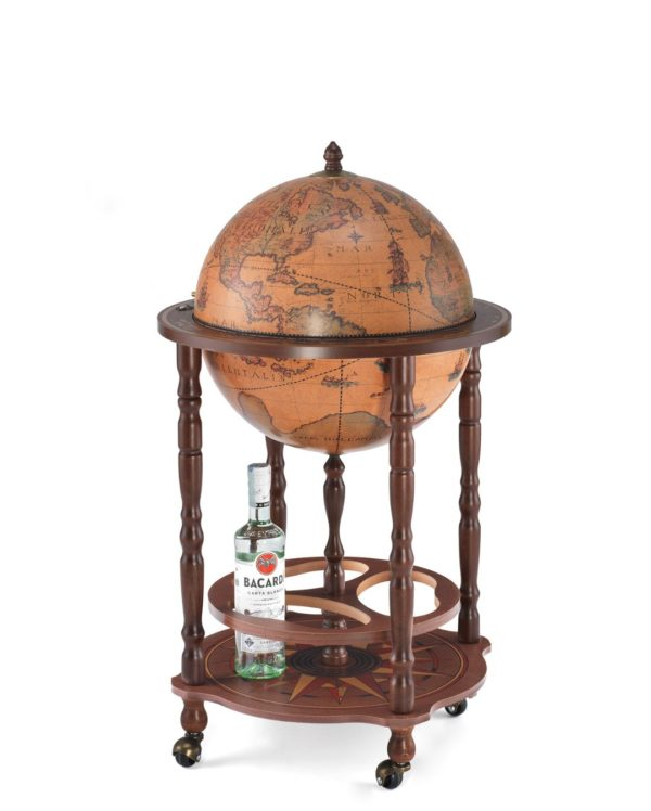 Product photo of classic color Enea floor globe bar - closed
