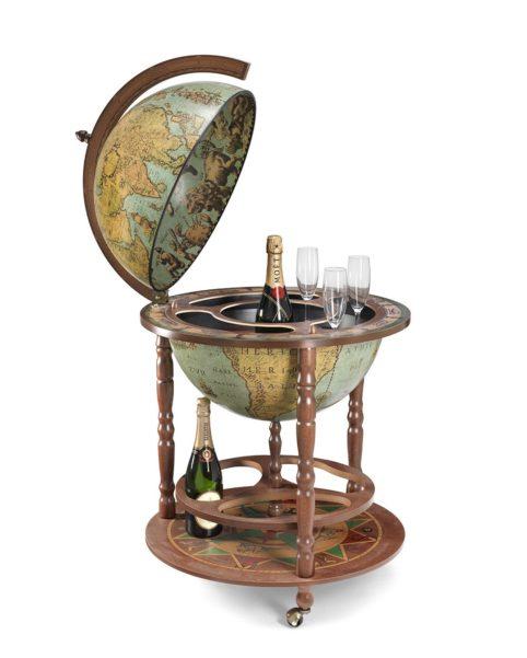 Image of the laguna color Calipso large floor globe bar