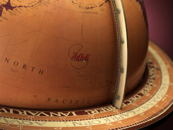 Studio photo for the Gea Aries Extra Large Current World Globe - 1