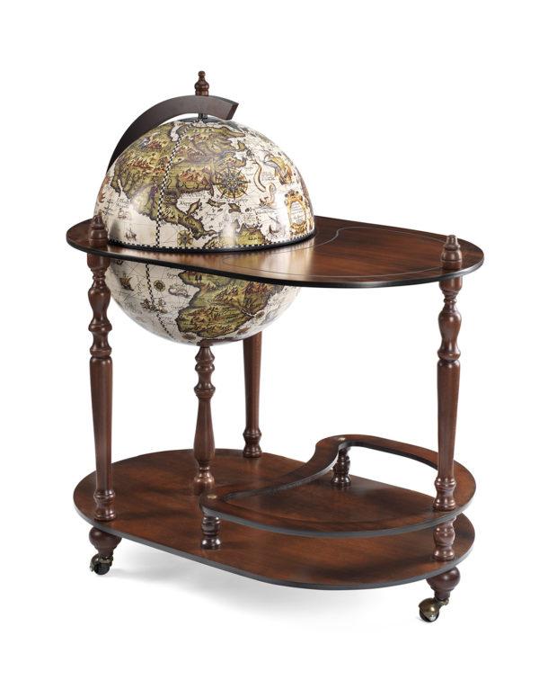 Vivalto bar globe cart - product photo - closed