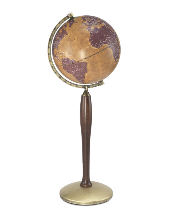 Catalog photo of the Gea Pisces tall floor globe - large photo