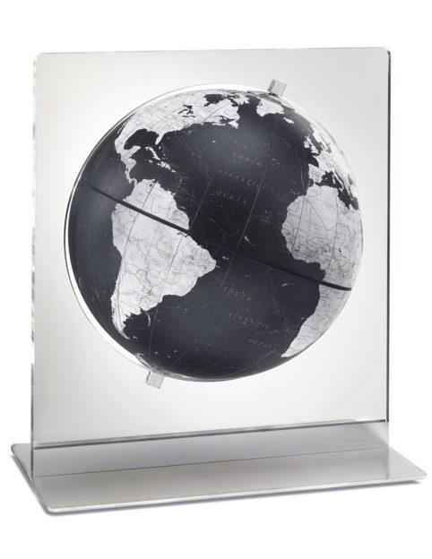 Product photo of Italian Aria black desk globe