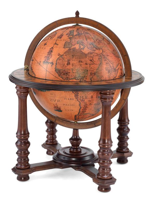 Product photo of the Elite extra large bar globe Demetra | closed